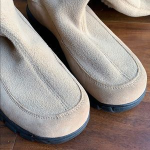 Lands' End Shoes - Land's End Fleece and Suede Boots Shoes